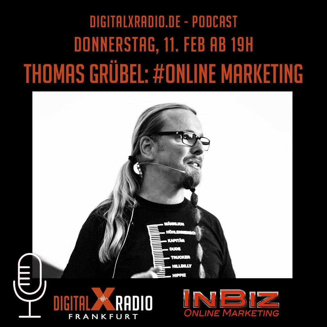 Das Cover für den Thomas-Grübel Podcast